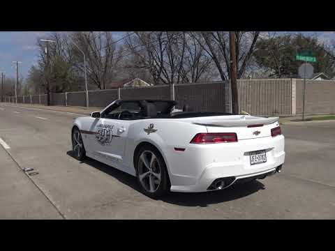 2015 Chevrolet Camaro Indy 500 Pace Car