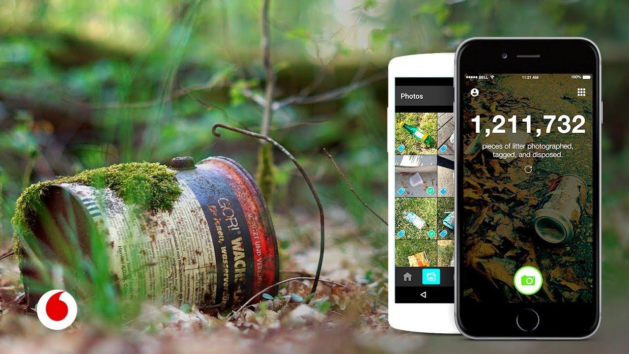 Esta app hace que limpiar el planeta se convierta en un juego
