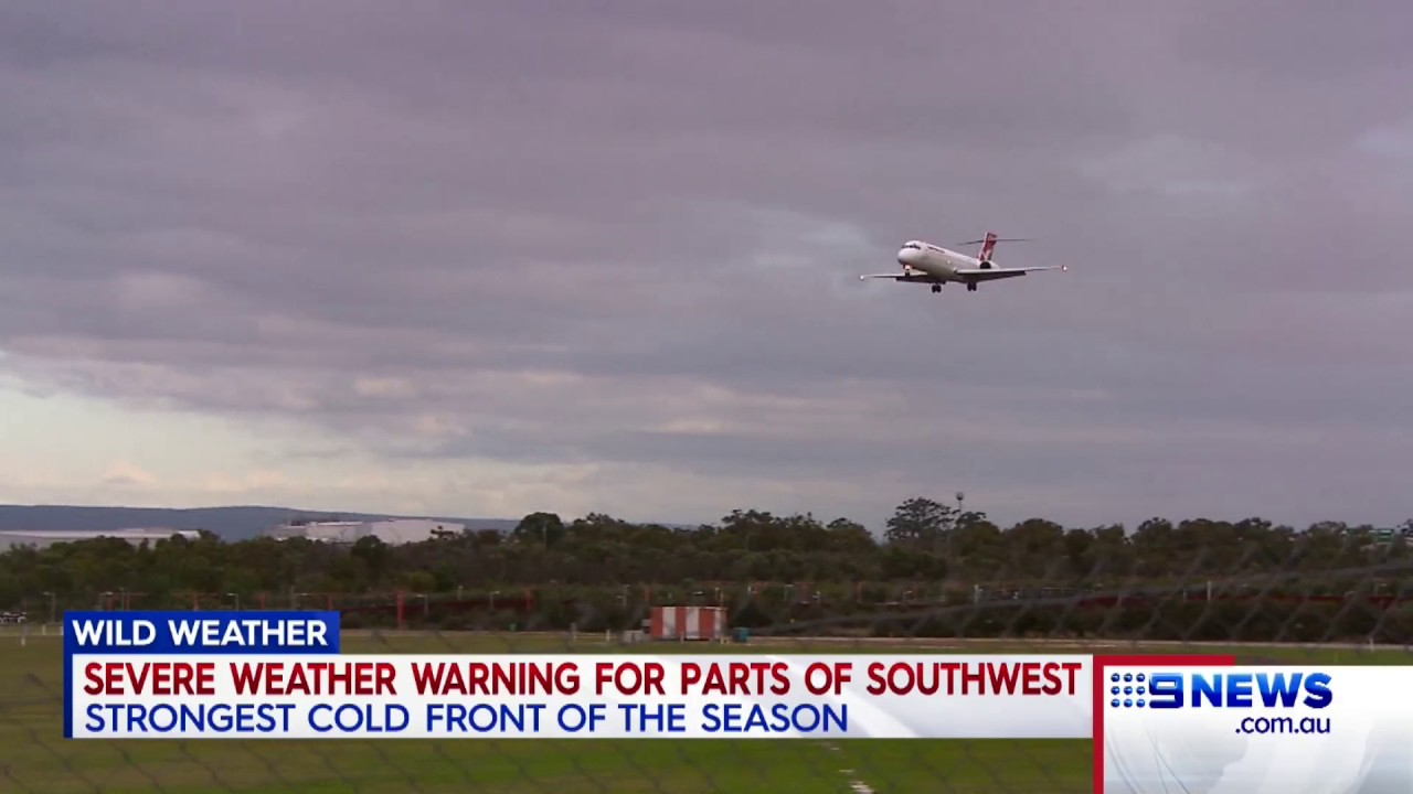 Weather Warning 9 News Perth Youtube