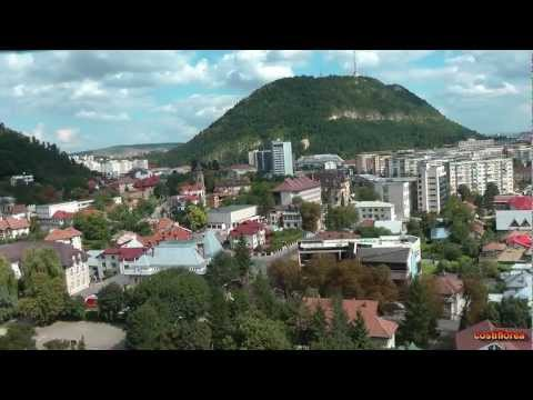 Romania - Piatra Neamt from Cable Car - Travel Video HD
