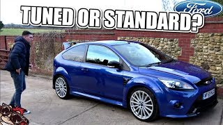 🐒 FASTER THAN YOU THINK!! FORD FOCUS RS FIRST IMPRESSIONS!