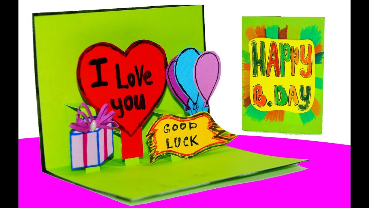 Easy greeting card making ideas for friends greeting card birthday easy greeting card making ideas for friends greeting card birthday greeting card pop up m4hsunfo