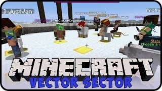 Vector Sector Server: Race with Cats and Wolves! // Minecraft