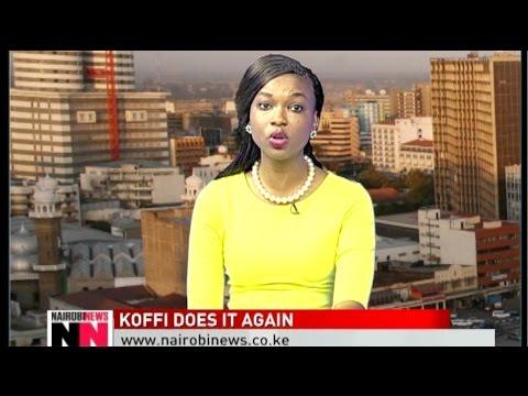 NAIROBI NEWS BULLETIN: Musician Koffi Olomide assaults his dancer at JKIA