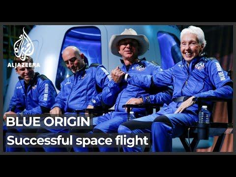 Blue Origin launch: Jeff Bezos, crew complete historic spaceflight