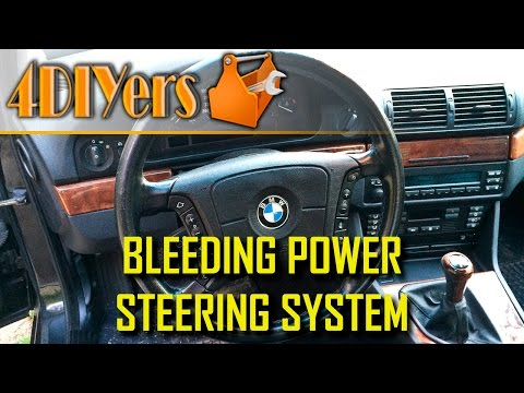 DIY: How to Bleed a Power Steering System