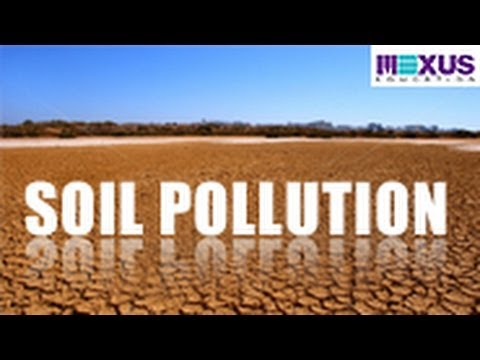 what are the causes of air water and land pollution