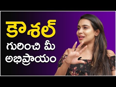 Sanjana interesting comments about Kaushal and his ARMY | Bigg Boss 2 | Myra Media