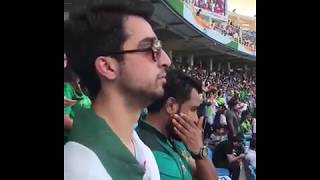 Pakistan Fan Reaction While Indian national anthem play  || Ind vs pak asia cup 2018 live