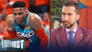 OKC Thunder 'owe' Russell Westbrook a trade - Nick Wright   NBA   FIRST THINGS FIRST