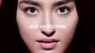 長谷川潤がアジアで展開しているza cosmeticsのCM に出演 レアな映像です。