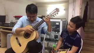 Chiếc đèn ông sao - Phạm Tuyên. Chuyển soạn guitar: Vũ Hiển