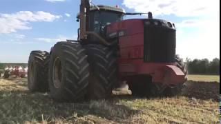 Kverneland RW 100 с трактором Buhler Versatile 535