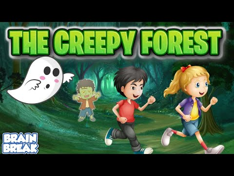 The Creepy Forest - Halloween PE Game