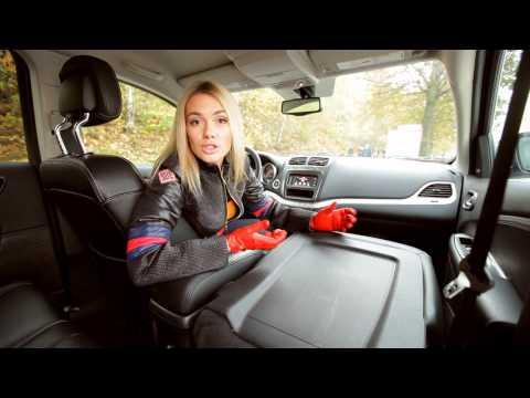 Dodge Journey: Тест-драйв в программе Москва рулит.