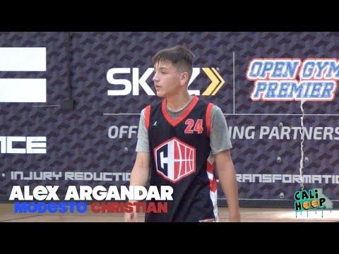 7cc605f8c Alex Argandar is COLD!!!! Top Junior High Guard in Nor Cal   - YouTube