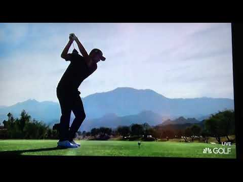 Patrick Cantlay Slow Motion Swing