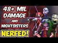 48+ Mil Damage Sith Raid Auto/Solo Strategy + Nightsisters NERFED! | Star Wars: Galaxy of Heroes