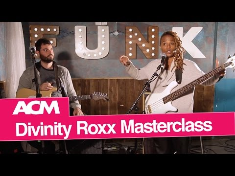 Bass Masterclass with Beyonce bassist Divinity Roxx