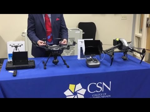 College of Southern Nevada developing new program on drones
