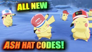 How To Get World Cap Pikachu!   All NEW Ash Hat Pikachu Codes! 🙂