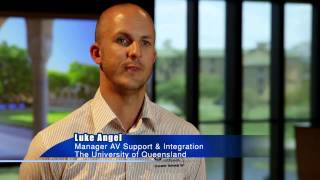 Zero Footprint - AMX Technology Delivers 6 Green Star Sustainability at Queensland University