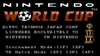 World Cup - NES Gameplay