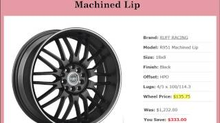 Buy Online Wheels and Tires Package on Special Deals