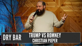 The differences between Mitt Romney and Donald Trump, Christian Pieper