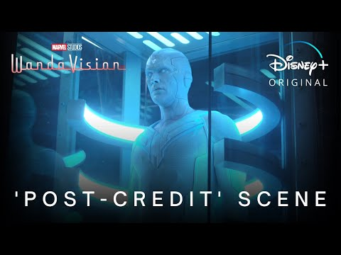 WandaVision | Episode 8 'Post Credit' Scene | Disney+