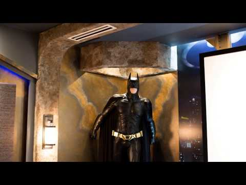 Kole Digital Batman Themed Home Theater Tour 5