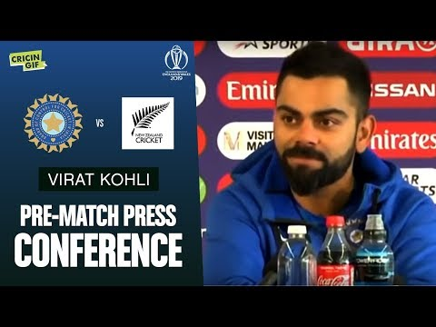 1st Semifinal: IND v NZ: Virat Kohli's Pre-Match Press Conference