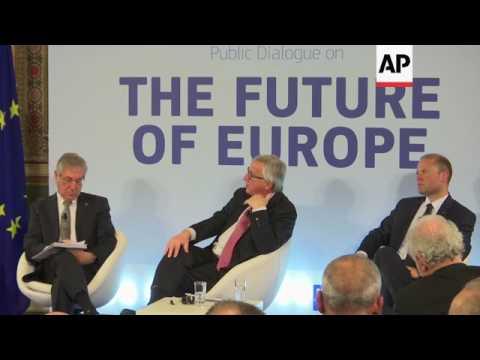 EU Commission chief Juncker comments on Brexit