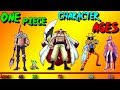 One Piece: Character Ages [Ranking]