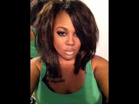 Crochet Straight Hair Youtube : Crochet Braids Third Install New hair by KaneKalon - YouTube