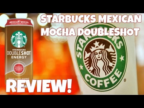 We Review Starbucks Doubleshot Mexican Mocha And Coffee With Protein Trylons