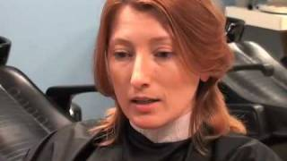 Wit Actress gets her head shaved