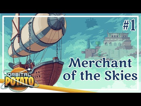 Starting A Trading Company! - Merchant Of The Skies - Strategy Management Game - Episode #1