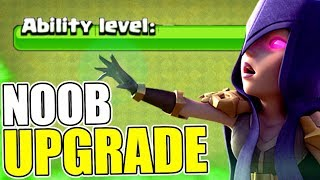 NEW ABILITY FOR THE NOOB BASE!! - Clash Of Clans