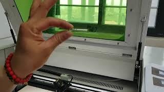 레이저커팅기 작업대 높낮이 조절하는 방법 안내하기