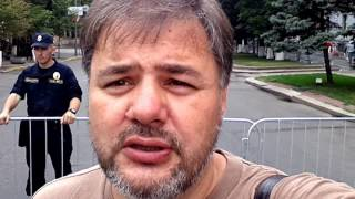 Параноїдальні заходи безпеки на Банковій // приїзд Бацьки Лукашенко до Петра Порошенка