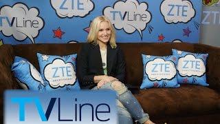 Kristen Bell Interview | TVLine Studio Presented by ZTE | Comic-Con 2016