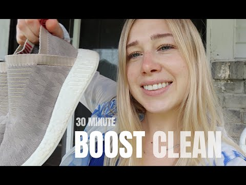 adidas NMD BOOST Cleaning in 30 Minutes