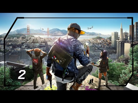 Watch Dogs 2 - Part 2 - Cyberdriver (PS4 - No Commentary)