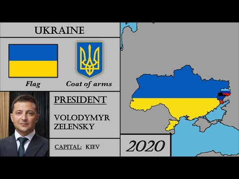 Ukraine Modern History (1917-2020) Every Year. История Украины.
