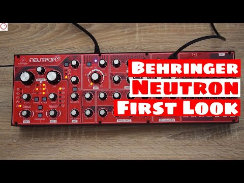 Behringer Neutron Semi-Modular Analog SYNTHESIZER - First Look | SYNTH ANATOMY