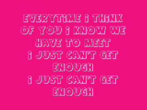THE SATURDAYS - Just Can't Get Enough lyrics