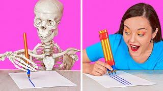 TRUCOS ESCOLARES || Divertidos tips e ideas fáciles para el regreso a clases por 123 GO! SCHOOL