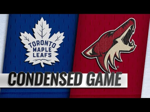 02/16/19 Condensed Game: Maple Leafs @ Coyotes