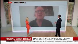 Ian56 demolishes the UK Gov malicious, false allegations that he is a Russian Bot live on SkyNews